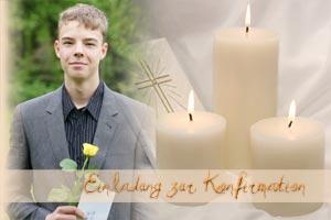 konfirmationskarten, mustertexte zur konfirmation,glückwünsche, Einladung